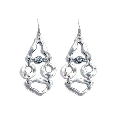 Silver Plated Zamak Earrings